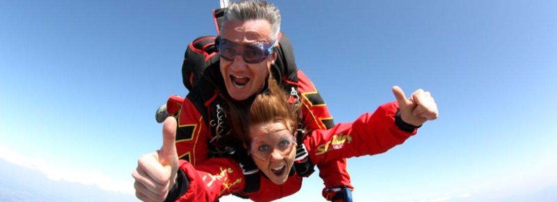 Parachute tandem Toulouse