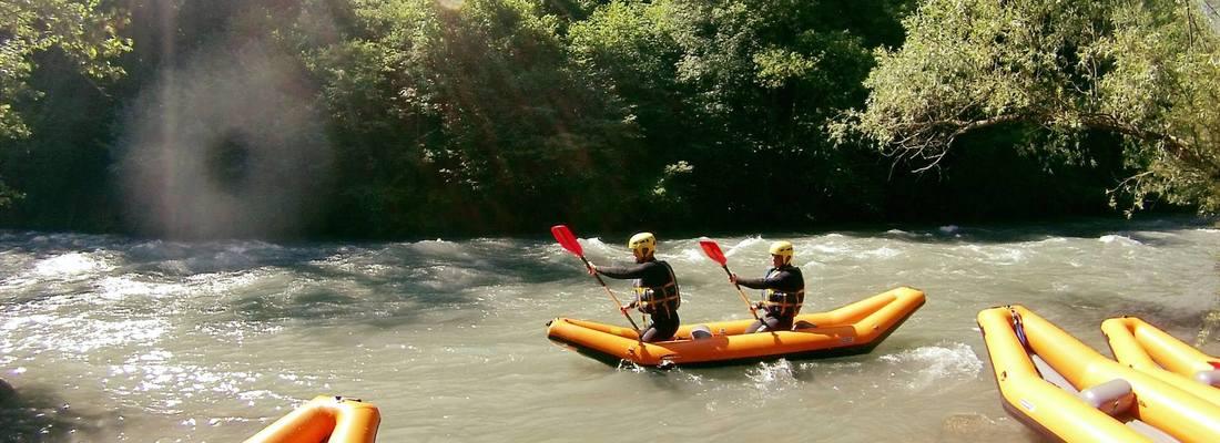 rafting haute savoie