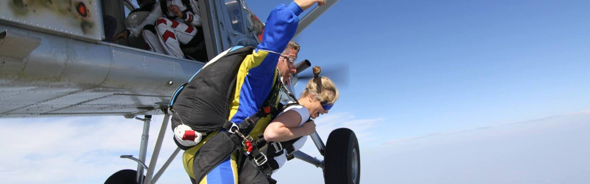 Saut en parachute Picardie