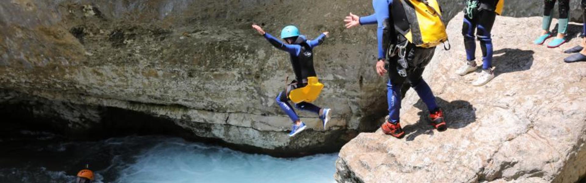 canyoning espagne