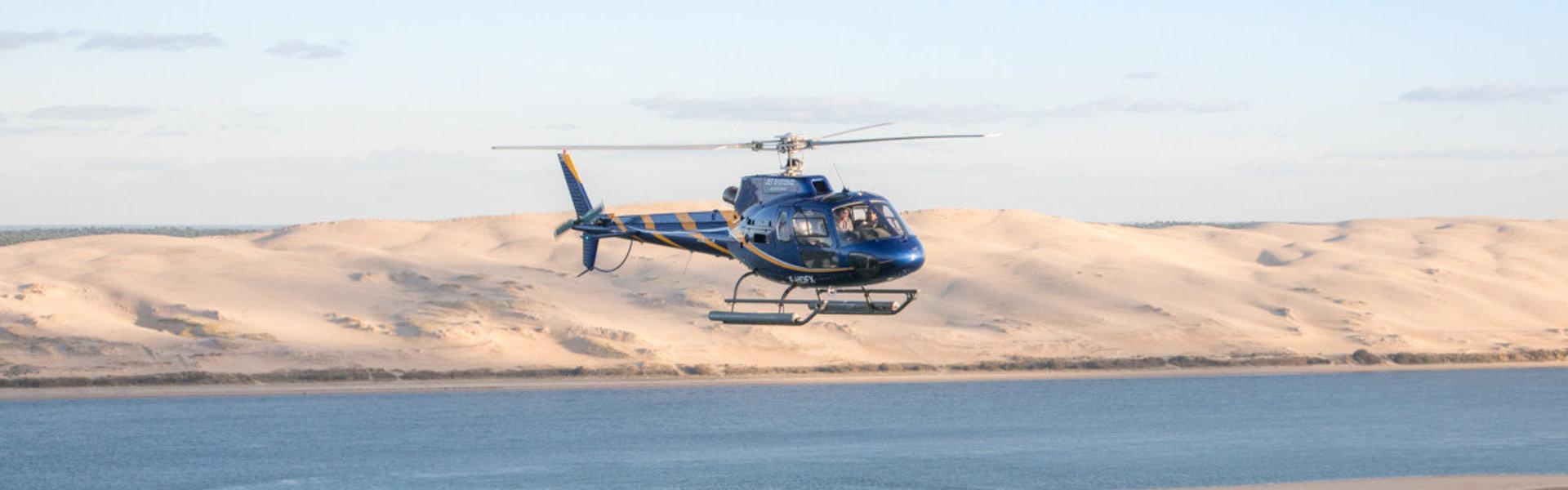 hélicoptère arcachon